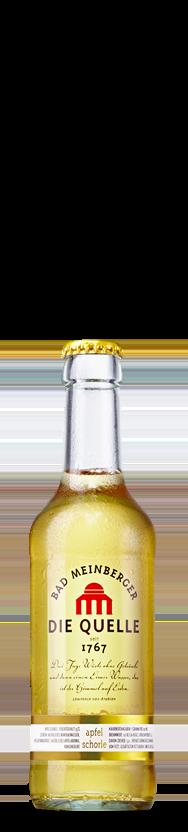 Bad Meinberger Mineralwasser Gastro klein Apfelschorle