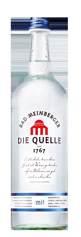 Bad Meinberger Mineralwasser Gastro groß mit Kohlensäure