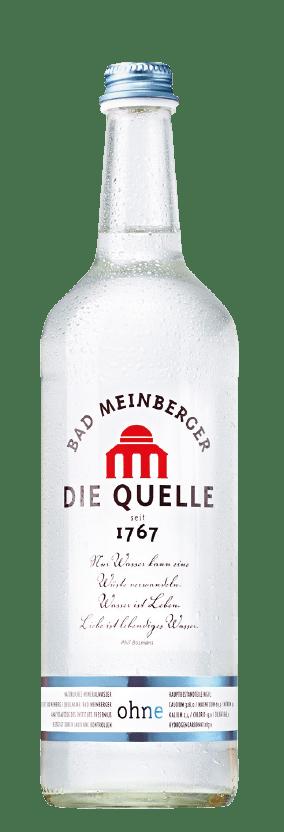 Bad Meinberger Mineralwasser Gastro groß ohne Kohlensäure